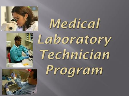 Serving in all areas of the clinical laboratory.