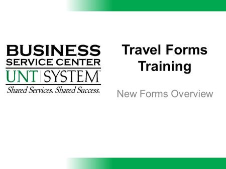 Travel Forms Training New Forms Overview. Definitions  IBT- Individually Billed Travel Card- issued by the State of Texas through Citibank. The IBT card.