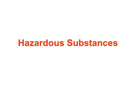 Hazardous Substances. Employer's Responsibility Every employer has a duty to ensure that their employees and others are not exposed to risks to their.