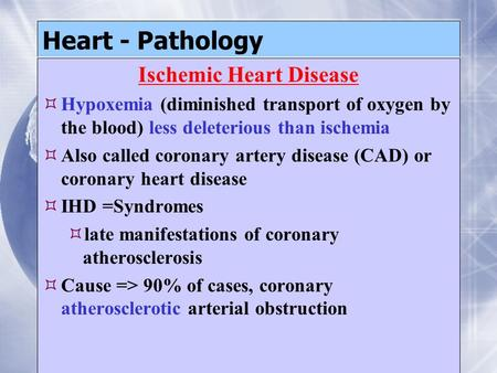Coronary artery disease |authorstream.