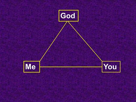 God Me You. Blue = Hope Advent = Coming… Preparation Repentance.