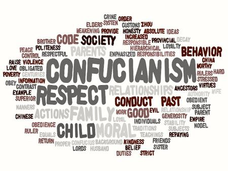 CONFUCIANISM With no CLERGY or GODS - Confucianism is not a religion in the TRADITIONAL sense ETHICAL system provides direction for personal behavior Practiced.