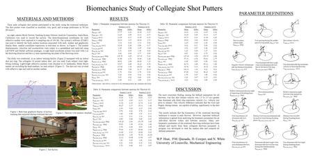 biomechanics of shot put