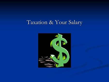 Taxation & Your Salary. Overview PPS Number What is it? A unique reference number for each person working and living in Ireland used by the Department.