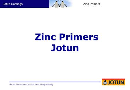Zinc Primers Jotun.