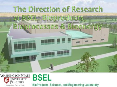 1.To develop and transform abundant and renewable bioresources through targeted research, development, demonstration and commercialization of bioproducts,