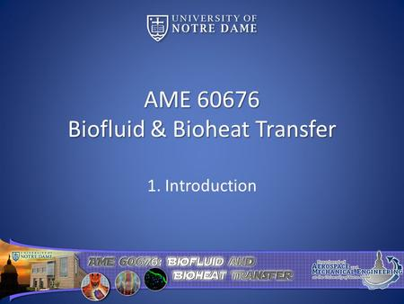 AME Biofluid & Bioheat Transfer