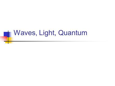 Waves, Light, Quantum. Figure 4.1: Molar Volume (elements known in 1869) (a few more recently discovered elements added)