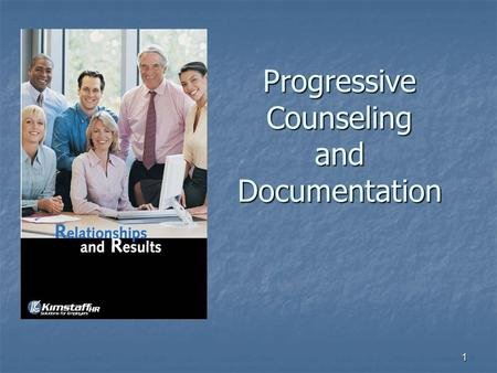 1 Progressive Counseling and Documentation. 2 Learning Objectives Elements of managing performance Elements of managing performance Establishing work.