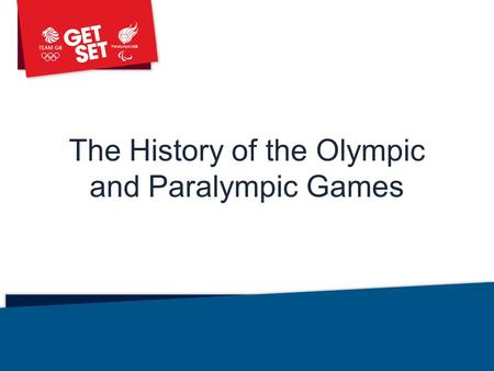 The History of the Olympic and Paralympic Games Library: Assemblies.