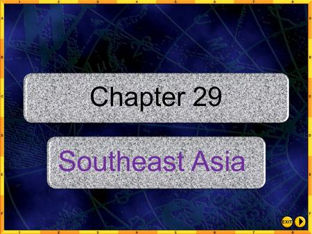 Chapter 29 Southeast Asia.