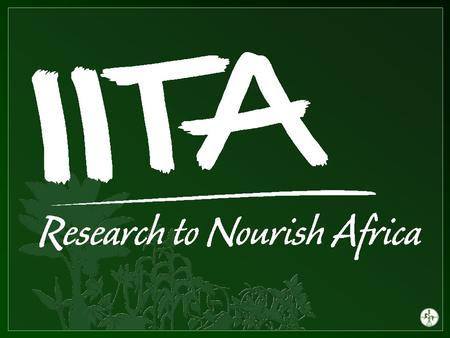 Impact of Trade on Domestic Rice Production and the challenge of Self- sufficiency in Nigeria Chuma Ezedinma Integrated Cassava Project International.