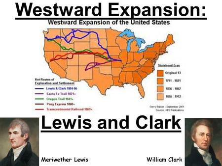 Westward Expansion: Lewis and Clark