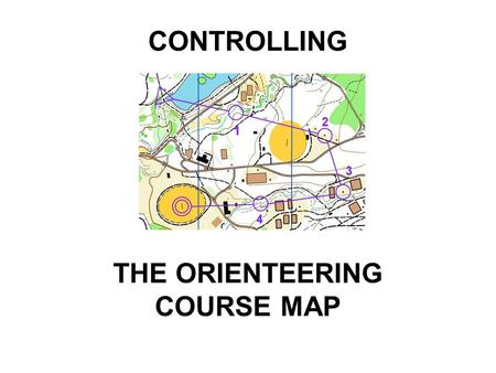 CONTROLLING THE ORIENTEERING COURSE MAP. There is a need for a stricter enforcement of the rules An evaluation of IOF Event Maps found an increasing number.