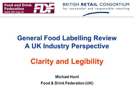 Date Labels On Food Uk Regulation