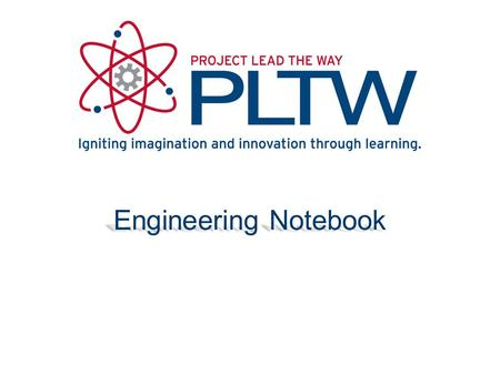 Engineering Notebook.