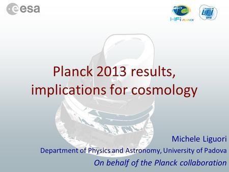 Planck 2013 results, implications for cosmology