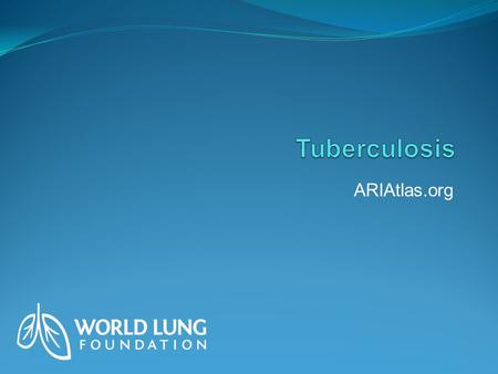 ARIAtlas.org. Global Impact TB causes nearly two million deaths a year, making it the world's seventh most common cause of mortality. More than two billion.