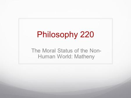 The moral status of the human embryo – when is he or she a person?