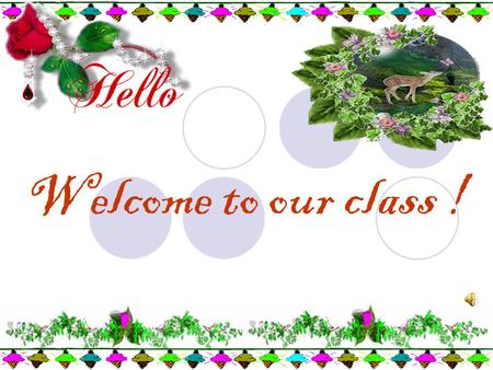 Welcome to our class !. KIM'S GAME September physical chemistry carefully computing primary.
