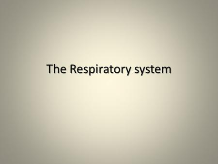 The Respiratory system. Functions Works closely with circulatory system, exchanging gases between air and blood: Works closely with circulatory system,