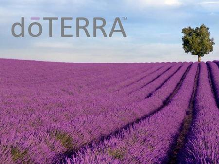 dōTERRA does not claim to
