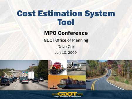 Cost Estimation System Tool