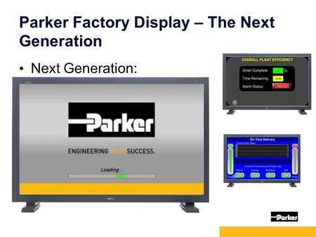 1 Parker Factory Display – The Next Generation Next Generation: