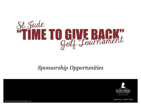 Sponsorship Opportunities. We can't wait for you to join us!