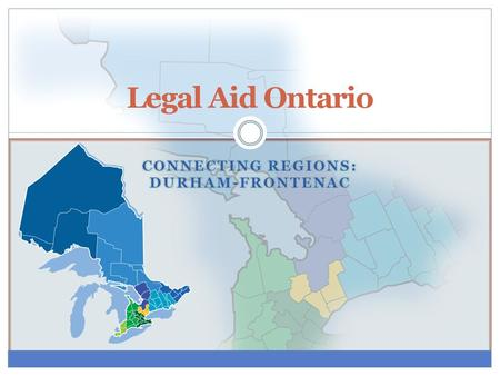 Legal Aid Ontario. About Legal Aid Ontario LAO's mandate is to promote access to justice throughout Ontario for low-income individuals by means of providing.