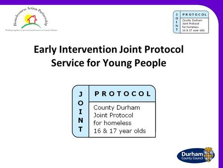 Early Intervention Joint Protocol Service for Young People.