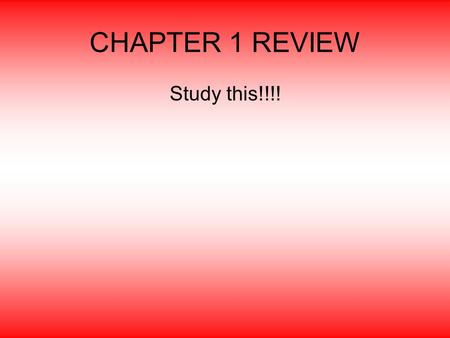 CHAPTER 1 REVIEW Study this!!!!. 1. stimulation (talking, interacting, etc.) and play.