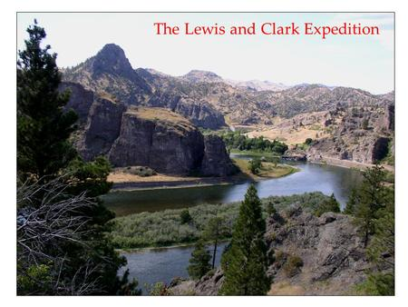 The Lewis and Clark Expedition. In 1803, President Thomas Jefferson bought more than 2 million square kilometers of land in North America from France.