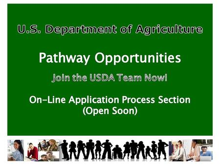 USDA MISSION STATEMENT To provide leadership on food, agriculture, natural resources, and related issues based on sound public policy, the best available.