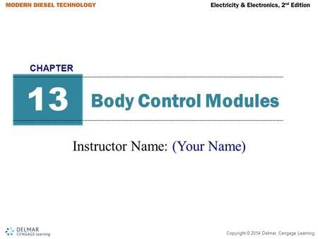 Instructor Name: (Your Name)