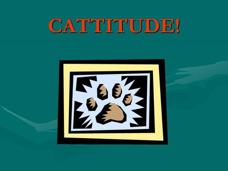 CATTITUDE!. What does CATS stand for? CATS is an acronym, and it stands for Courage, Attitude, Teamwork and Spirit.CATS is an acronym, and it stands for.