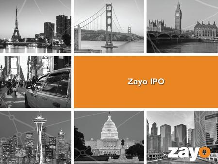 Zayo IPO. 2 | Proprietary and Confidential 2 Overview  Established team  Identified overall timeline – continue to track to overall timeline  Built.