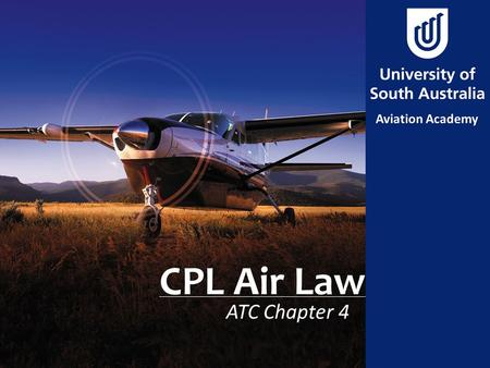 CPL Air Law ATC Chapter 4. Aim To determine the minimum requirements for VFR pilots to plan flight to alternate aerodromes.