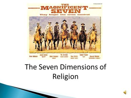 the 6 dimensions of religion Krizmanich world religions midterm spring 2013 applying 'the six dimensions of religion to judaism the six dimensions of religion are deeply entwined with eachother, as no person can experience the depth of one dimension without encountering the others the six dimensions, as described by.