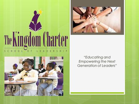 """Educating and Empowering the Next Generation of Leaders"""