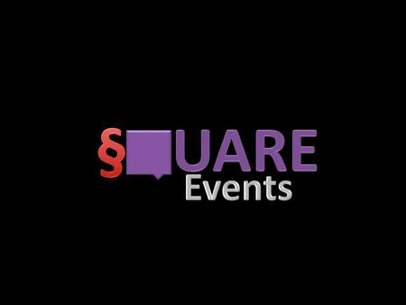 We made a passion an obsession. We love what we do and that's the motto of our existence. S-Square events, a joint venture event management company is.