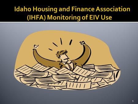 1.  IHFA Management and Occupancy Review (MOR) Process:  Initial MOR Notification Letter  Desk Review by IHFA pre- MOR  Day of the MOR  MOR Report.