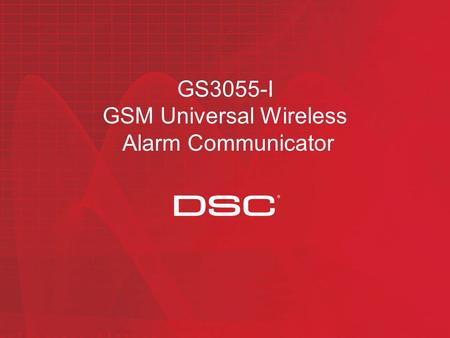 GS3055-I GSM Universal Wireless Alarm Communicator