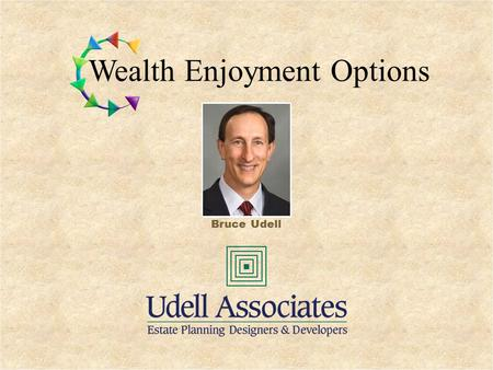 Wealth Enjoyment Options Bruce Udell. © Copyright All Rights Reserved Wealth Enjoyment, LLC Charitable Lead Unitrust Wealth Enjoyment Options.