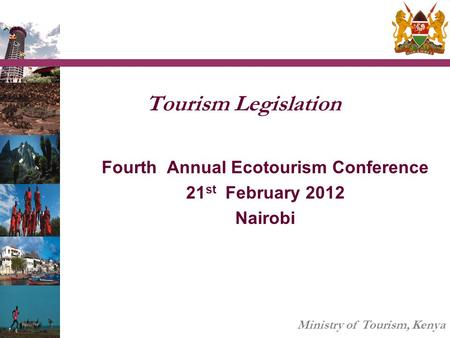 Fourth Annual Ecotourism Conference