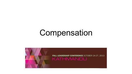 Compensation. Today's Agenda Explore Compensation Issues for NESA Schools What is working and what is not? Are there new trends or issues for which you.