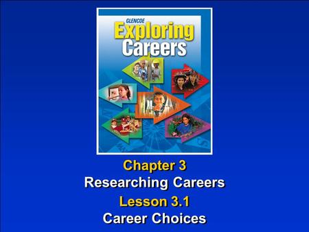 Researching Careers Career Choices
