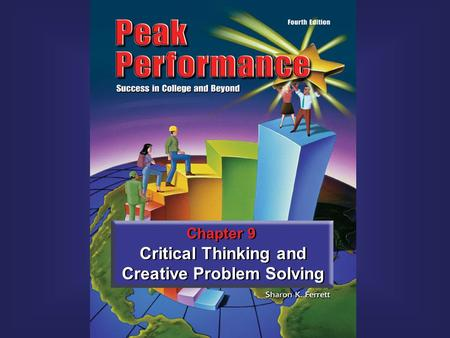 Book cover art to be inserted Chapter 9 Critical Thinking and Creative Problem Solving.