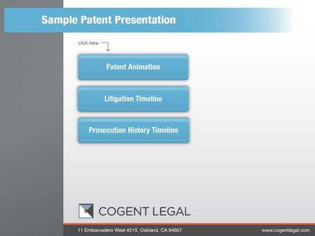 1 1. 2 Patent Animation 2 3 3 4 Litigation Timeline 4.