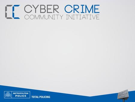 Today's Agenda… Knowledge Check What is Cyber Crime? Identity Theft Phishing Common Scams inc. online and mobile phone scams Prevention Methods.
